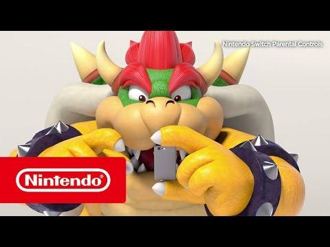 Vídeo do Controlo parental da Nintendo…