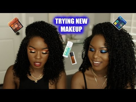 CHIT CHAT GRWU | TRYING NEW MAKEUP