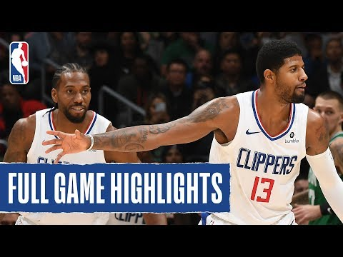 CELTICS at CLIPPERS | FULL GAME HIGHLIGHTS | November 20, 2019