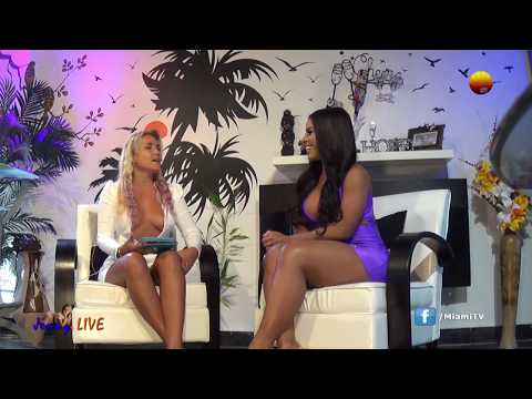 Jenny Scordamaglia & Yarishna Ayala - Interview - Nude