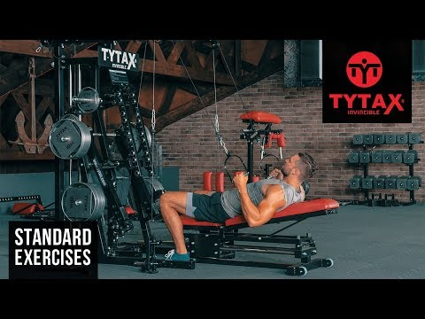 TYTAX® M2 | Lying High Cable Row