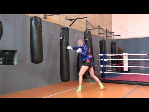 bag work muay thai style 2