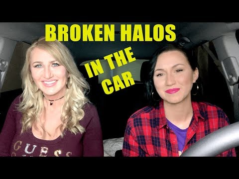 Mom-Daughter from The Voice sing Chris Stapleton - Broken Halos in the car.