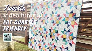 Fat Quarter Friendly Half Square Triangle Quilt Perfect For Beginner Quilters