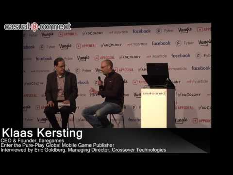 Enter the Pure-Play Global Mobile Game Publisher | Klaas Kersting