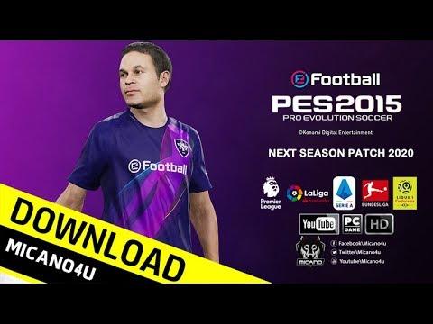 PES 2015 | Next Season Patch 2020 Download & Install (PC/HD)