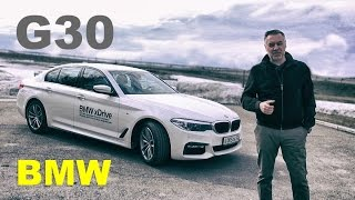 BMW 5-series 2017 DIESEL 👉 ТЕСТ-ДРАЙВ Александра Михельсона | AVM