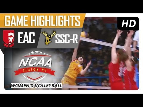 NCAA 93 WV: SSC-R vs. EAC | Game Highlights | January 4, 2018
