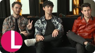 Jonas Brothers on Reuniting, Married Life and Taylor Swift's Apology   Lorraine