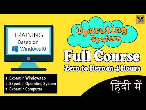 Learn Operating System Full Course in One Video | Full Tutorial for Beginners to Expert [Hindi]