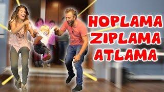 Adisebaba Stüdyoları 'nda Hoplama Zıplamala Atlama Challange | Bizim Aile Eğlenceli Çocuk Videoları
