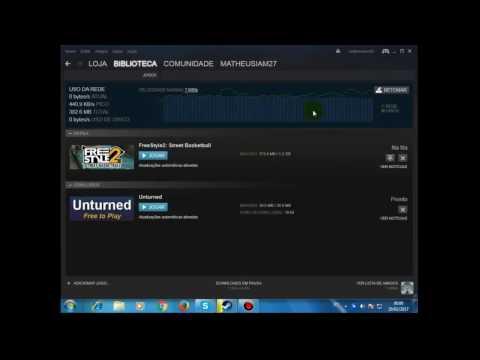 Como baixar mais rápido na Steam 2017 Funcionando 100%
