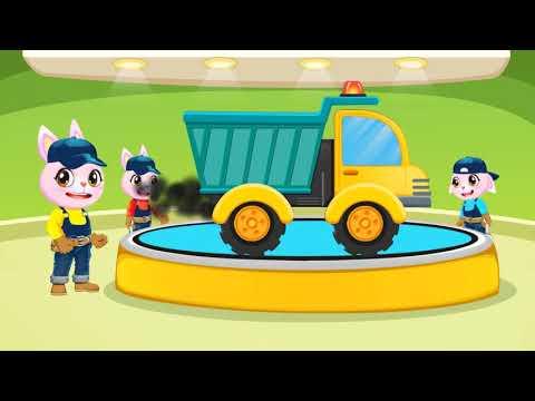 Mainan Kereta api dan Truk yeeyee
