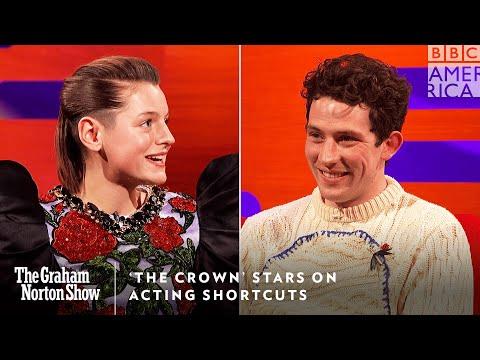 Jak hrát členy královské rodiny - The Graham Norton Show