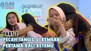 Yang tadi udah pada nonton Part#1 Persiapan Nabila dan keluarga ketemu  Nadia di Jakarta. Nah, kali ini giliran detik-detik ketemunya si kembar. Gimana ya reaksi Nabila - Nadya ketemu PERTAMA KALINYA ? Sepecah apa yaa?  Ps: siapin tissue yang banyak yaak. Dijamin mewek :D   ================================================ EMAIL: For business enquiries please contact hi@gritteagatha.com  SUBSCRIBE  https://bit.ly/youtubegritte   FOLLOW MY INSTAGRAM : https://www.instagram.com/gritteagathaa/   TWITTER https://twitter.com/gritteagathaa    LIKE, COMMENT, SHARE & SUBCRIBE!