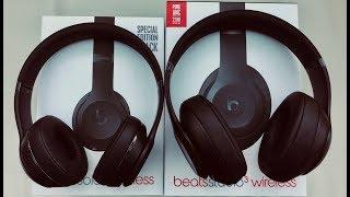 Beats Solo3 vs Studio3 Wireless: Unboxing & Review