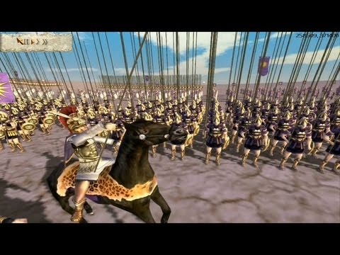 ALEXANDER the Great  at the Battle of Gaugamela