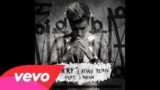 Justin Bieber   Sorry Latino Remix   Audio ft  J Balvin (Lyrics Descripcion)
