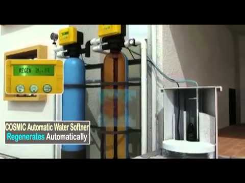 Fully Automated Water Softener
