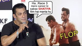 Salman Khan FINALLY Accepts Race 3 Was The WORST Movie In His Career