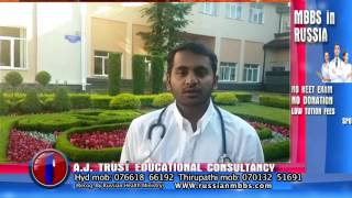 STUDENT SHARING VIEWS ABOUT STAVROPOL STATE MEDICAL UNIVERSITY & A J TRUST