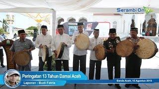 Peringatan 13 Tahun Damai Aceh Berlangsung Sederhana