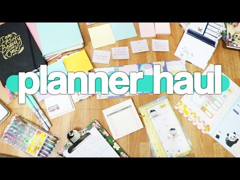 (HAUL) PLANNER AND PLANNER SUPPLIES HAUL!!!! Philippines