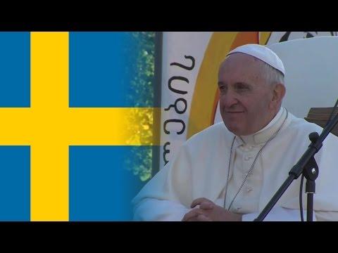 Le pape en Suède pour commémorer la Réforme