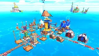 Global Warming Happened So I Built A City Out Of Floating Garbage in Flotsam