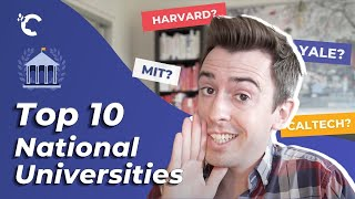 youtube video thumbnail - Top 10 National Universities in the US