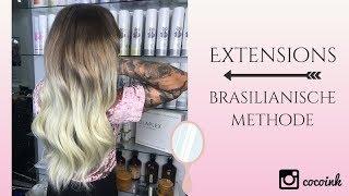 Haarverlangerung brasilianisch