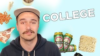 I Survived On A College Food Budget For A Week