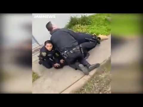 ABD Polisinin Uyguladığı Şiddet Kan Dondurdu