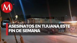 Jornada De Violencia En Tijuana, Baja California
