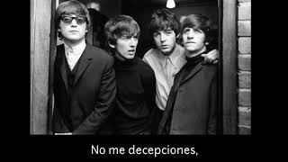 The Beatles   Don't Let Me Down ( Subtitulado Al Español )