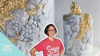 How To Create A Fondant Stone Texture On Cake