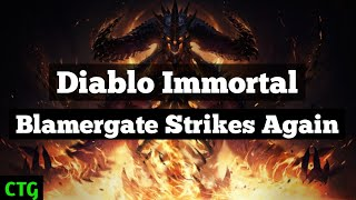 Diablo Immortal Backlash Prompts Blamergaters to Attack Gamers Once Again