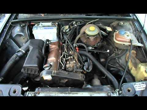 Der Volkswagen die Karavelle die 2 Liter das Benzin
