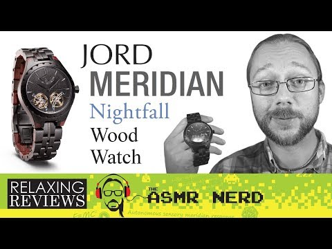 RELAXING REVIEWS | JORD Meridian Nightfall Wood Watch (& Giveaway!)