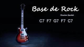 BASE DE ROCK EN C, ESTILO PAPPO, PARA IMPROVISAR CON LA GUITARRA