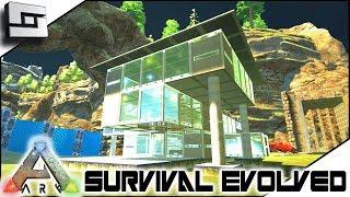 ARK: Survival Evolved - MODERN HOUSE BUILDING! S2E7 ( Modded Ark Extinction Core )