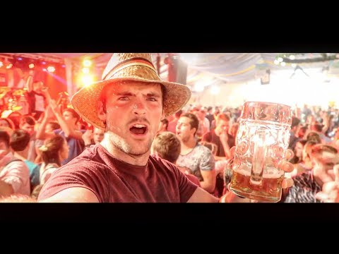 What It's Like Inside A German Beer Tent