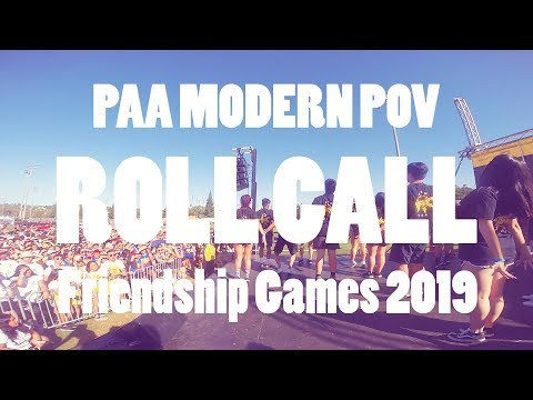 ROLL CALL MULTICAM | UCM PAA Modern | Friendship Games 2019