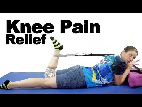 """ד""""ר ג'ו מדגימה – איך להיפטר מכאבי ברכיים"""