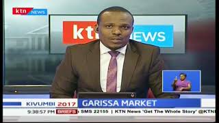 National Government to rebuild the Garissa open air market previously destroyed by fire