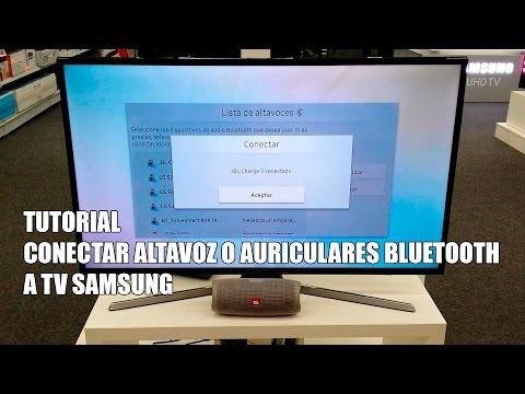Conectar altavoces bluetooth a una TV Samsung y hacer sonar altavoces de la tv a la vez