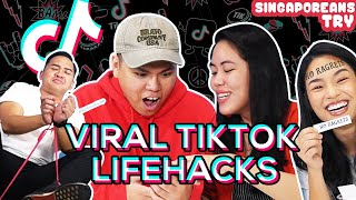 Singaporeans Try: Viral Tik Tok Hacks