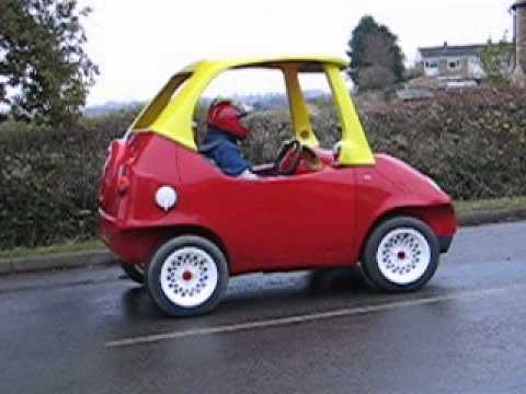 Street Legal Little Tikes Cozy Coupe