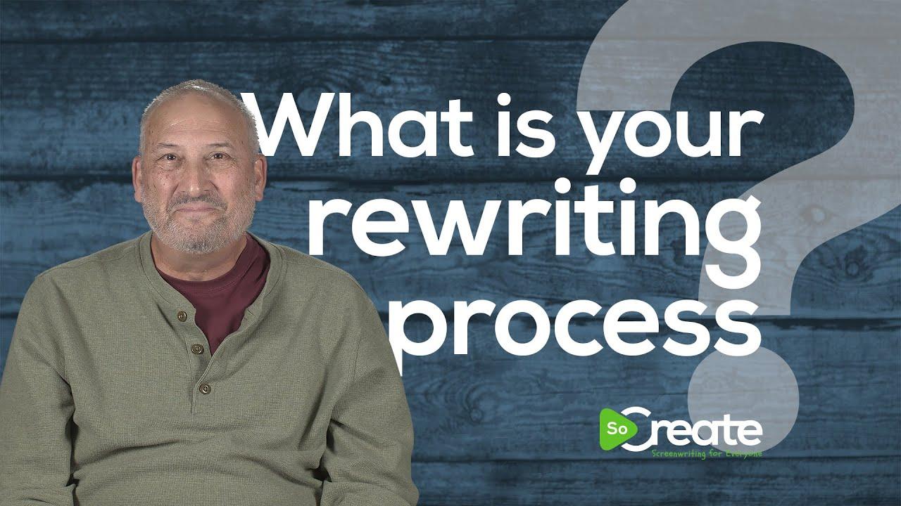 Veteran TV Writer Ross Brown Tells Screenwriters How to Approach a Rewrite