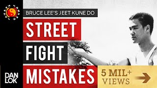 3 Common Mistakes In A Street Fight - Bruce Lee